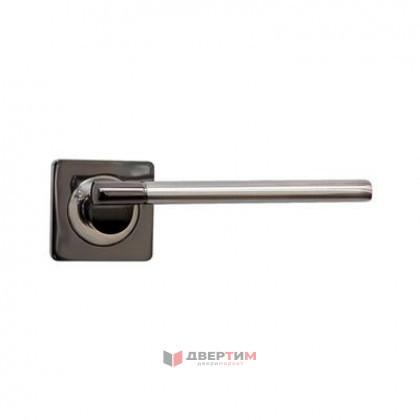 Ручка дверная МОДЕНА BN/SN черный никель-мат никель