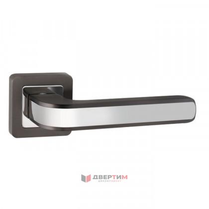 Ручка дверная NOVA QL GR/CP-23 графит/хром