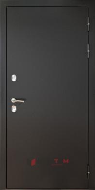 Входная дверь Аляска Антик серебро ФЛ-1 Дуб мокко