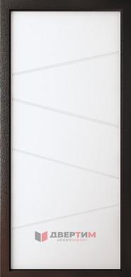 Входная дверь Индиго ФЛ-6 Лофт белый