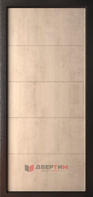Входная дверь Элегант 7,5 ФЛ-7 бетон крем