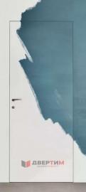 Скрытая дверь (под покраску) QIN11
