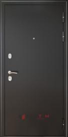 Входная дверь Леон 9,5 Антик серебро ФЛ-6 Лофт белый AGAT